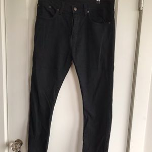 Levi's 512 Slim Taper Black Jeans